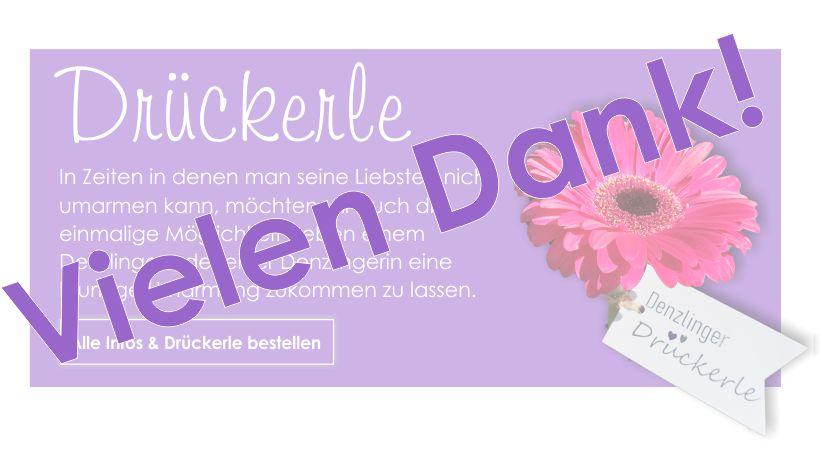 drückerle home banner dank